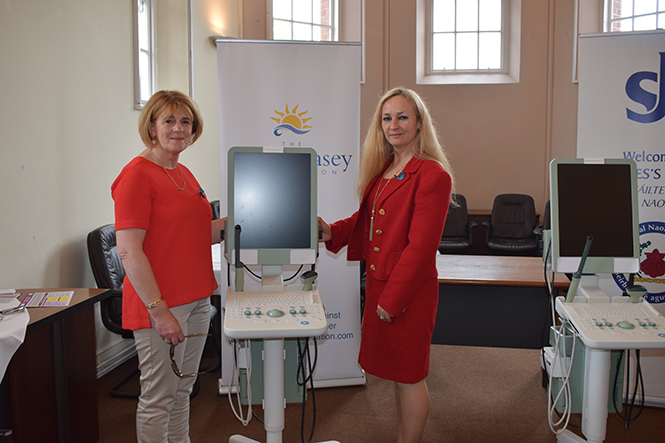 Emer Casey Foundation Presents 2 Ultrasound Scanners to St. James's Hospital, Dublin