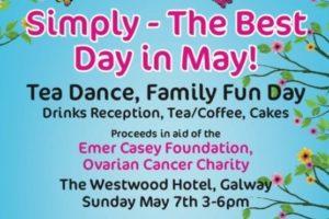 Tea dance poster